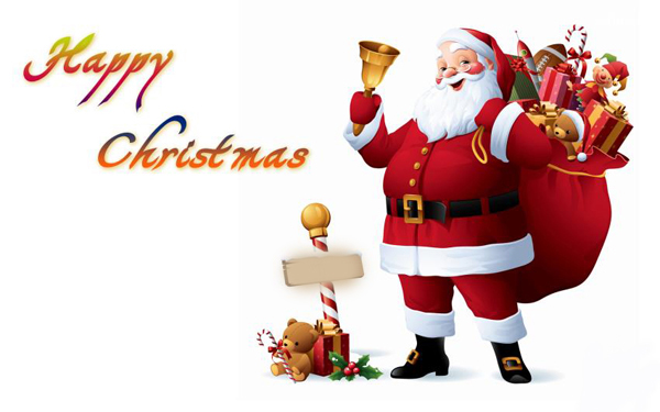 Merry Christmas - Santa Gifts
