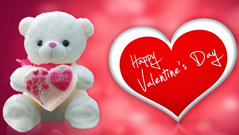 Happy Valentine Day - Teddy Bear