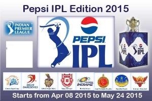 2015 Indian Premier League – IPL 8 Cricket Tournament