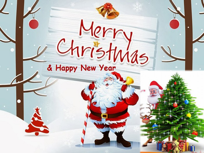 Merry Christmas - Happy New Year
