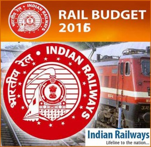 Indian Railway Budget 2016
