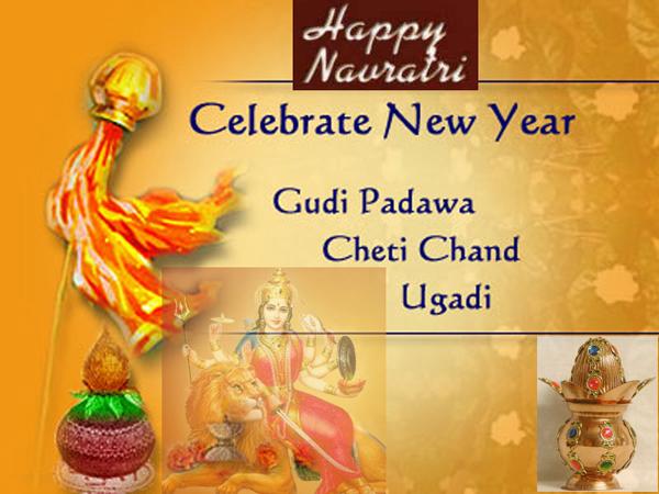 Navratri, Gudi Padwa, Ugadi festival
