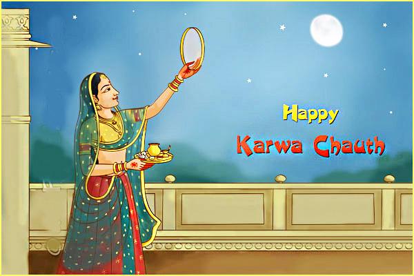 Karva Chauth festival for husband
