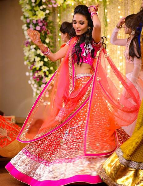 wedding sangeet lehenga
