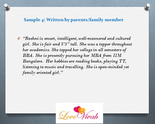 description-samples-written-by-family-members