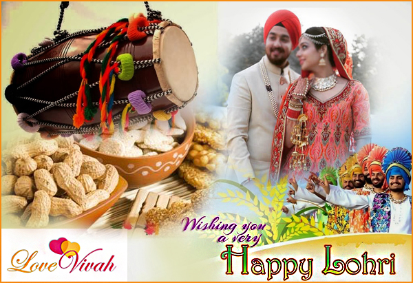 Happy Lohri Festival in Punjab