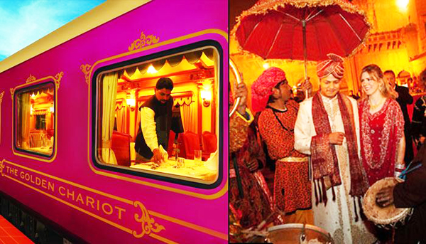 Indian railway wedding