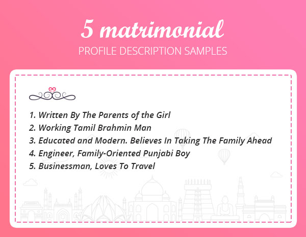 matrimonial-profile-samples