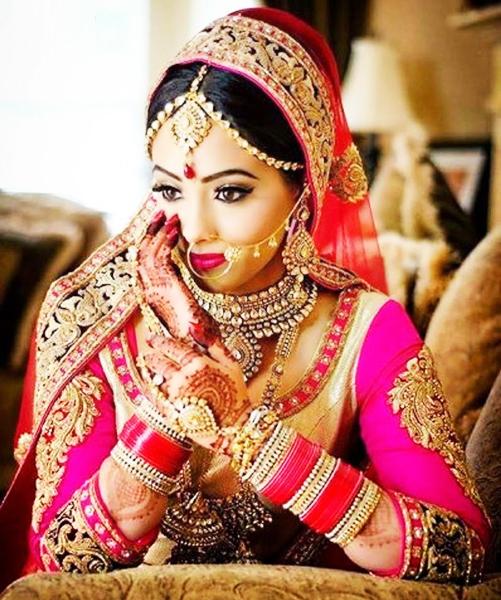 wedding mehendi for bride