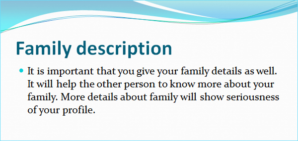 family-description