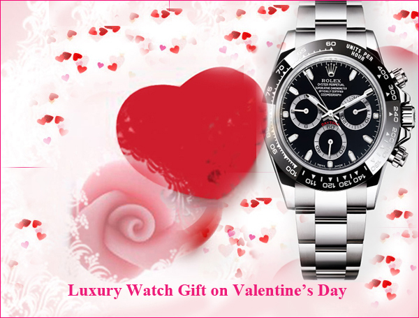 Luxury-Watch Gift for Husband on Valentine
