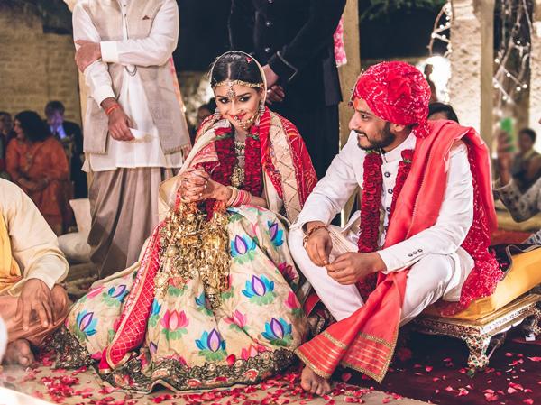 Jain wedding ritual
