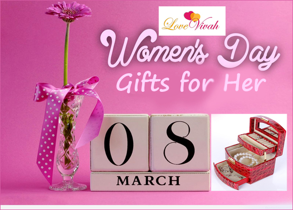 gifts for her on womens day - 8 march