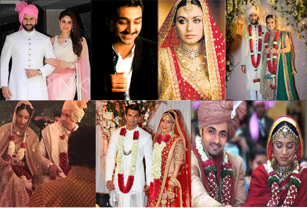 Bollywood Divas who married in their late 30 Age