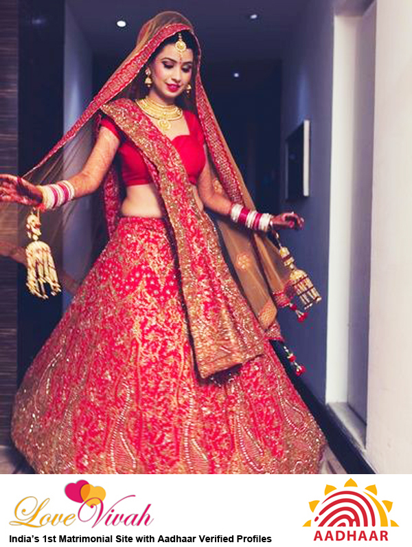 Wedding Lehenga for Bride