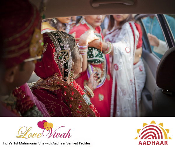 Wedding Vidaai Ceremony- LoveVivah