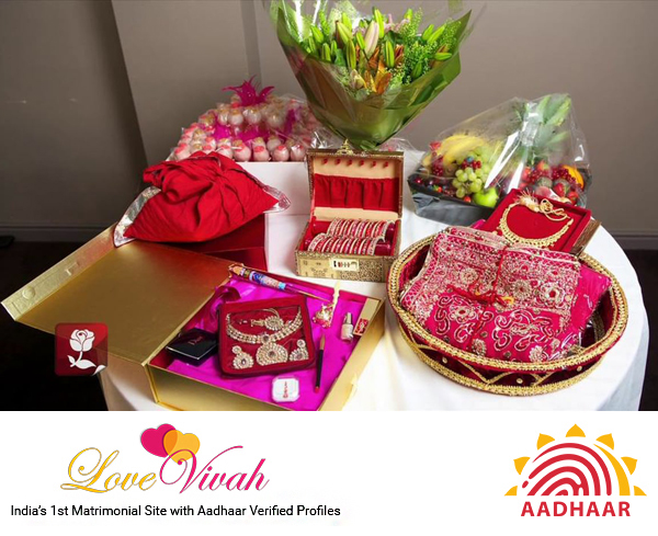Special Gifting Ideas For Roka Ceremony Lovevivah Matrimony Blog