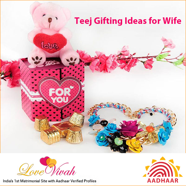 Teej Gifting Ideas for Wife