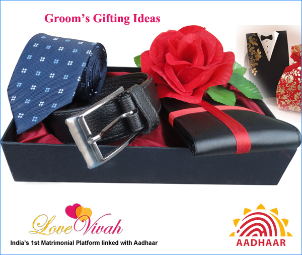 Grooms Gifting Ideas To Surprise Him On Wedding Day Lovevivah