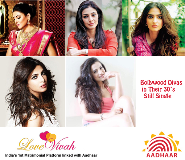 Bollywood Divas with Single in Their 30s