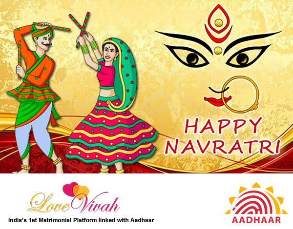 Navratri festival colors wearing